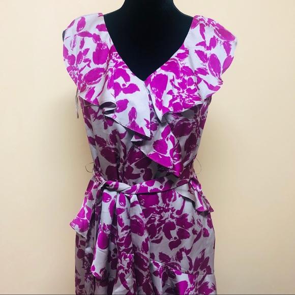 Elle Dresses & Skirts - Elle ruffled floral dress